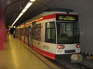 Trams in Bochum/Gelsenkirchen Tramway network in Germany
