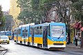 Tram in Sofia mear Macedonia place 2012 PD 028.jpg