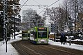 Trams in Addiscombe Road, Croydon - geograph.org.uk - 2189027.jpg