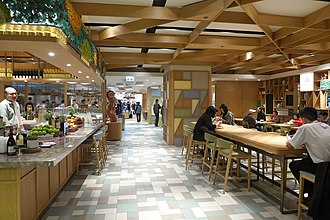 Cityplaza - Phase 2 new food court TREATS opened in late 2016