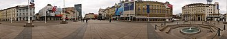 Ban Jelačić Square - 360-degree panoramic image of the square