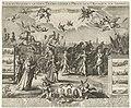 Triomfwagen van de prins van Oranje, 1675 Victori-Waeghen vanden Doorluchtigen Prince van Orangien en Nassou &c (titel op object), RP-P-1890-A-15484.jpg