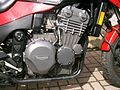 Triumph 900cc engine in Daytona Sprint Special (RH).jpg