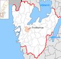 Trollhättan Municipality in Västra Götaland County.png