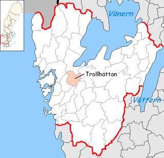 Trollhättan Municipality Municipality in Västra Götaland County, Sweden