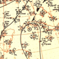 Tropical Storm Item surface analysis October 15, 1951.png