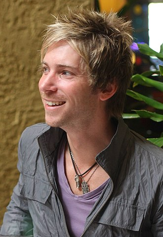 Troy Baker - Baker at the 2011 Taiyou Con during an autograph session