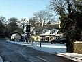Trumpington, The Unicorn in the snow - geograph.org.uk - 1654396.jpg