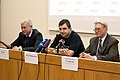 Trunin, Novoselov, Samarskiy at press conference 1.jpg