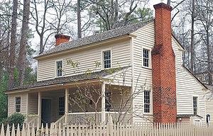 Tullie Smith House - Image: Tullie Smith Farmhouse