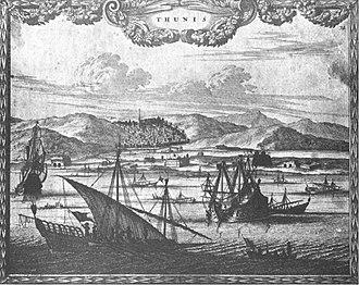 Tunisi nel 1690