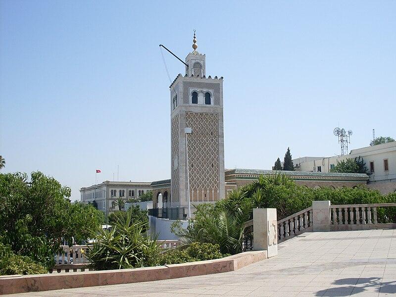 File:Tunis Mosqué Kasbah.JPG
