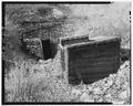 Tunnel no. 2 entrance and air valve shed, looking west - Ogden Canyon Conduit, Ogden, Weber County, UT HAER UTAH,29-OGCA,2-7.tif