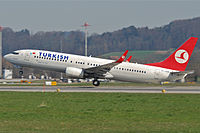 TC-JGD - B738 - Turkish Airlines