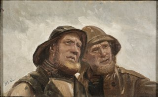 Two Fishermen. Study