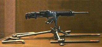 Type 3 heavy machine gun - Image: Type 3 Taisho 14 heavy machine gun