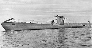 u boat  German Type I submarine