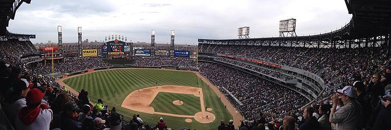 Guaranteed Rate Field Wikipedia - Us cellular field seating map