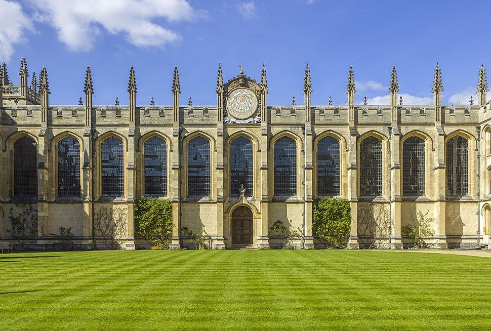UK-2014-Oxford-All Souls College 02