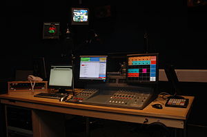 University Radio Nottingham - URN Studio Two after its 2010 refit