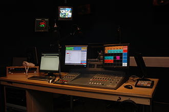 University Radio Nottingham - URN Studio Two after its 2010 refit