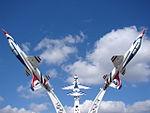 USAF THUNDERBIRDS T38s (13729318774).jpg