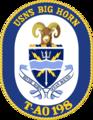 USNS Big Horn T-AO-198 Crest.png