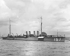 USS Dickerson (DD-157) - Image: USS Dickerson DD157