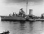 USS Blue (DD-387) transferring survivors off Guadalcanal on 9 August 1942.jpg
