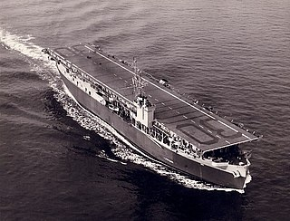 USS <i>Charger</i> (CVE-30) Escort carrier