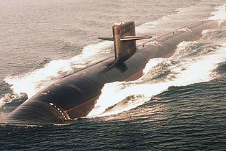 USS Hyman G. Rickover (SSN-709) - Image: USS Hyman G. Rickover (SSN 709)