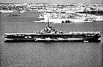 USS Leyte (CVS-32) at anchor off Malta in 1957.jpg