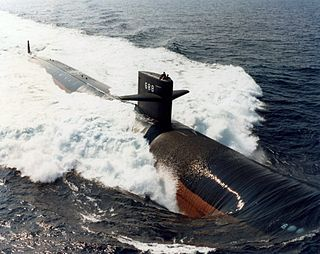 <i>Los Angeles</i>-class submarine class of nuclear-powered fast attack submarines of the United States Navy