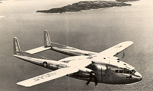700th Airlift Squadron - Fairchild C-119 of the Air Force Reserve