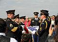 US Army 52067 Korean War veteran's flag folded.jpg
