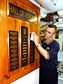US Navy 020418-N-1110A-505 Hall of Heroes aboard USS Cole.jpg