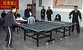 US Navy 021126-N-1777B-001 ping pong tournament held at the People's Liberation Army, North Sea Fleet, base.jpg