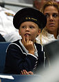 US Navy 030606-N-5576W-001 Family members of U.S. Navy Sailors watch a recent recruit graduation at Recruit Training Command Great Lakes.jpg