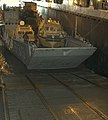 US Navy 040706-N-4304S-169 A Landing Craft Utility (LCU) enters the well deck of amphibious assault ship USS Tarawa (LHA 1).jpg