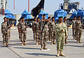 US Navy 040930-N-7185S-197 Iraqi Sailors assigned to the Iraqi Coastal Defense Force (ICDF) render honors during the ICDF activation ceremony on Sep. 30, 2004.jpg