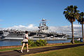US Navy 050223-N-8157C-069 The Nimitz-class aircraft carrier USS Abraham Lincoln (CVN 72) arrives in Pearl Harbor, Hawaii, for a port visit.jpg