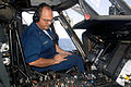 US Navy 050724-N-5526M-006 Aviation Electronics Technician 1st class Larry Franklin checks a communication link between a SH-60 Seahawk helicopter and the guided missile cruiser USS Philippine Sea (CG 58).jpg