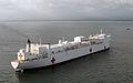 US Navy 070725-N-8704K-151 Military Sealift Command hospital ship USNS Comfort (T-AH 20) prepares to pull into Acajutla, El Salvador, for a scheduled port visit.jpg