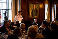 US Navy 110829-N-YM440-195 Vice Adm. Dirk Debbink, Chief of Navy Reserve, speaks to members of the Cincinnati Navy League during Cincinnati Navy We.jpg