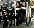 US Navy sailors in front of a nightclub in Hamburg 1968.jpg