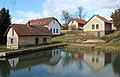 Uhlířské Janovice, Opatovice II, village pond.jpg