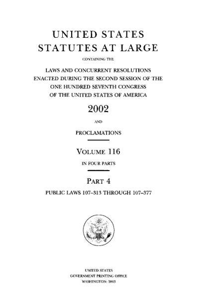 File:United States Statutes at Large Volume 116 Part 4.djvu