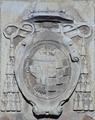 Universidad de Alcalá (RPS 11-12-2007) Colegio de Málaga, escudo del obispo Juan Alonso de Moscoso.png