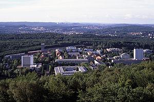 Rainer Krause - Campus of Saarland University
