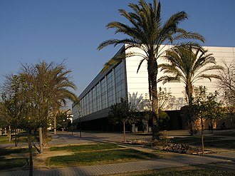 University of Alicante - Image: University Alicante Campus Biblioteca General